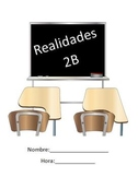 Realidades 2B Packet for Practice and Review