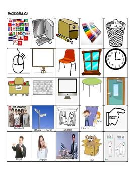 Realidades 2B Teacher vs. Student Vocabulary Game