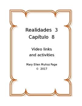 Realidades 3  Cap. 8  actividades
