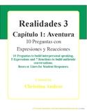 Realidades 3 - Capítulo 1 - 10 Preguntas - Aventura
