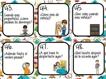 48 Realidades 3: Capítulo 1 Task Cards