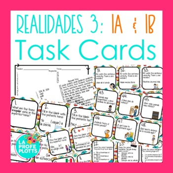 Realidades 3 Capitulo 3 Worksheets Teaching Resources TpT