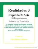 Realidades 3 - Capítulo 2 - 10 Preguntas - Arte