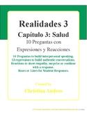 Realidades 3 - Capítulo 3 - 10 Preguntas con Expresiones y