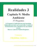 Realidades 3 - Capítulo 9 - 37 Preguntas - Medio Ambiente