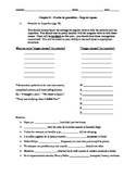 Realidades 3 Ch. 2 grammar review packet - 4 pages!  pret./imp., ser/estar, etc.