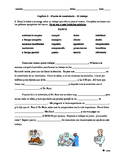 Realidades 3 Ch. 5 vocab quiz, reading comp. practice, job & career vocab