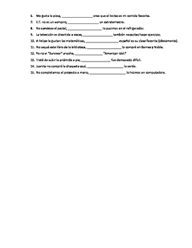 Realidades 3 Ch 7 grammar quiz/practice - subjunctive and pero, sino, sino que