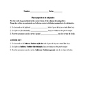 Realidades 3, Chapter 10. Pluperfect Subjunctive. Quiz / Activty