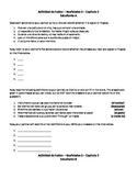 "Realidades 3 Chapter 2 - Partner Speaking Activity ""Info Gap"""