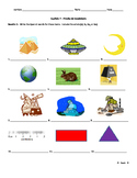 Realidades 3 Chapter 7 - vocab quiz or reading practice worksheet