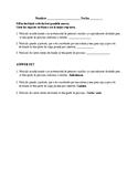 Realidades 3, Chapter 9. A ver si recuerdas # 2. Quiz / Activity