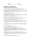 Realidades 3 Chapter 9. A ver si recuerdas Vocabulary # 1 . Quiz / Activity