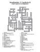 Realidades 3 Vocabulary Crossword Bundle