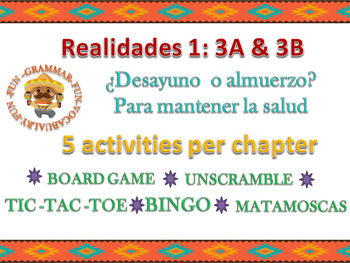 Realidades 3A & 3B Bundle