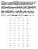 Realidades 3A Reading - Wordsearch - Translation - Spanish 1 Desayuno y Almuerzo