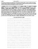 Realidades 3B Reading - Wordsearch - Translation - Spanish