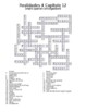 Realidades 4 Vocabulary Crossword Chapter 12