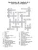 Realidades 4 Vocabulary Crossword Chapter 8