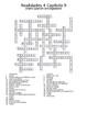 Realidades 4 Vocabulary Crossword Chapter 9