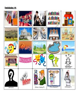 Realidades 4A Teacher vs. Student Vocabulary Game