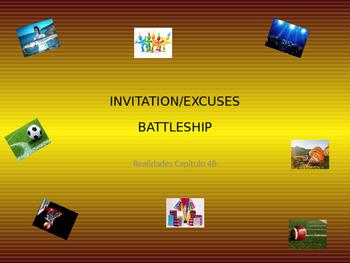 Realidades 4B - Class and Pair Vocab. Battleship Games