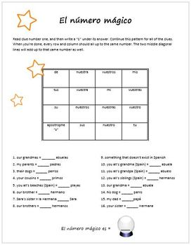 Realidades 5A Packet for Practice and Review (Spanish 1)