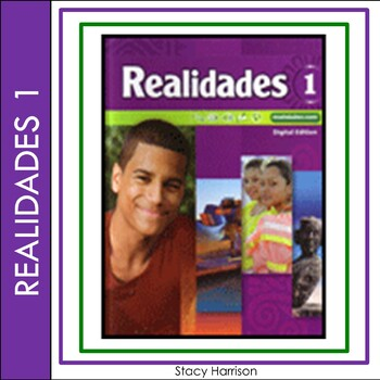 Spanish  1: Realidades 6A:  Bedroom Items and Colors Quiz or Practice