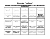 "Realidades 6B Spanish House and Chores ""Bingo"""