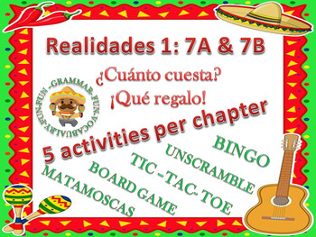 Realidades 7A & 7B Bundle