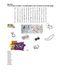 Realidades: 7B Vocabulary Word Search