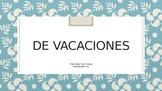 Realidades 8A de vacaciones sentences