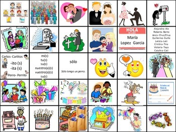 Birthday Party Vocabulary Flash Cards (Realidades B Ch. 5A)