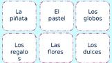 Realidades B capítulo 5A vocab task cards