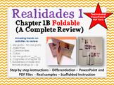 Adjectives (Spanish Foldable)