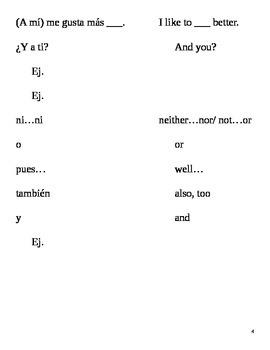 Realidades I, 1A Vocabulary
