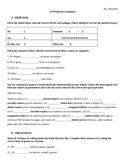 Realidades I: 3A Grammar Quiz (ER/IR verbs & me gusta/n)