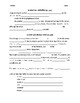 Realidades I Capítulo 9A Vocabulary and Grammar Notes (Spanish Given)