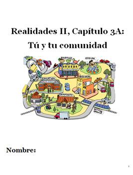Realidades II, Capítulo 3A Packet