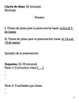 Realidades III, 5 Chapter Lesson Plans