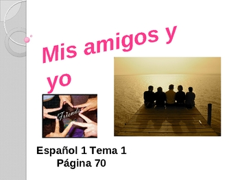 Realidades Spanish 1 Chapter 1B Vocabulary Powerpoint