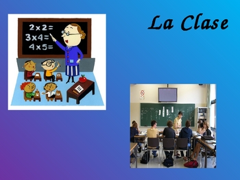 Realidades Spanish 1 Chapter 2A Vocabulary Powerpoint