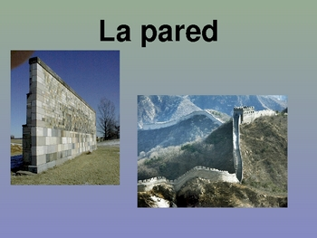 Realidades Spanish 1 Chapter 6A Vocabulary Powerpoint