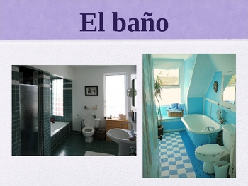 Realidades Spanish 1 Chapter 6B Vocabulary Powerpoint