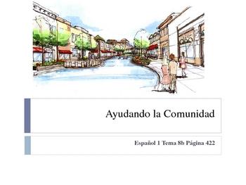 Realidades Spanish 1 Chapter 8B Vocabulary Powerpoint