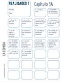 "Realidades Spanish 1 • ""I CAN"" statement stamp sheet • 3A & 3B"