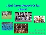 Realidades Spanish 2 Chapter 1B Vocabulary Powerpoint