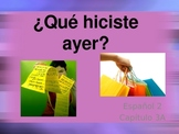 Realidades Spanish 2 Chapter 3A Vocabulary Powerpoint