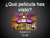 Realidades Spanish 2 Chapter 6B Vocabulary Powerpoint