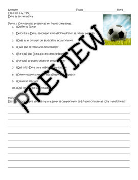 Realidades Spanish 2 SUPER Bundle: TPR story reading comprehension questions